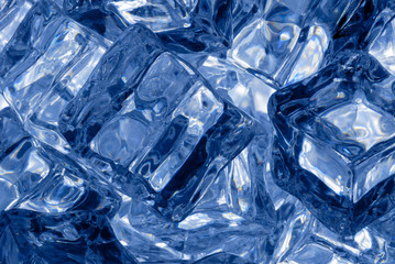Ice cubes background