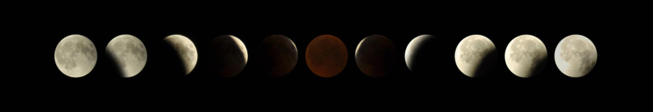 Moon Lunar Eclipse July 2018