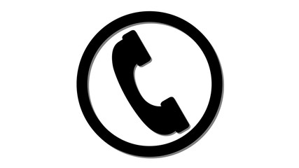 cell phone icon incoming call symbol