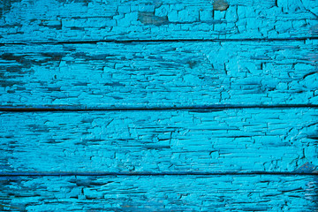 Wooden background dark blue color, wood texture, old painted wall lines