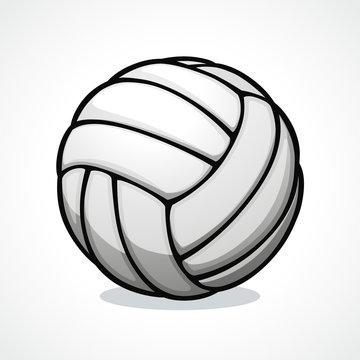 Vector volleyball ball icon design