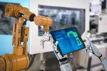 robot in factory