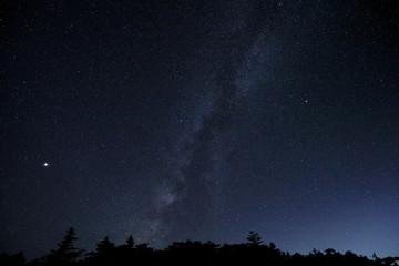 大台ヶ原の満天の星空 天の川