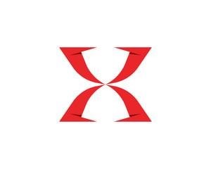 X Logo Template vector icon design
