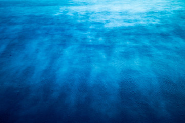 Blurred texture of the long exposure sea surface