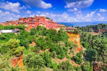 Roussillon, Provence in France