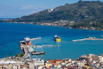 Greek harbour