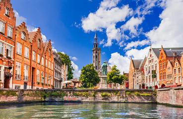 Foto op Canvas Brugge Bruges, Belgium