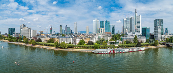 Innenstadt Panorama Frankfurt am Main