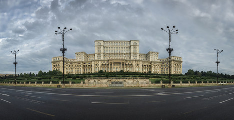 Palace of Parliament in Bucharest