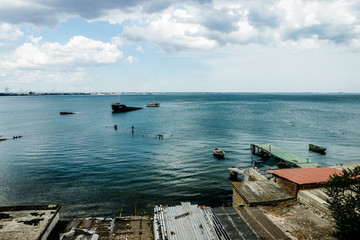 Феодосия Феодосийский залив