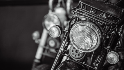 Front Headlight Motorcycle