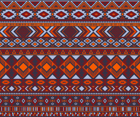 American indian pattern tribal ethni