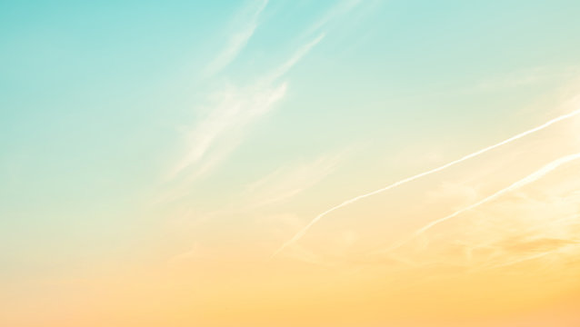 Nature pastel sky background