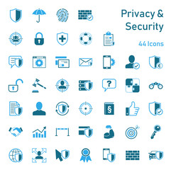 Privacy & Security - Iconset