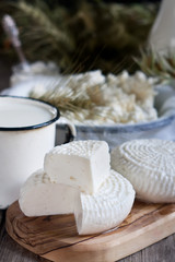 Dairy products and grains