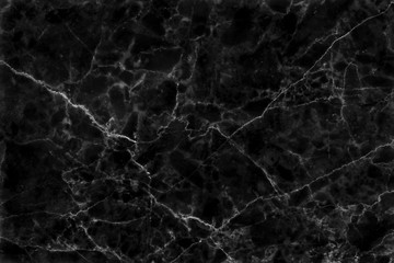 Black grey background marble wall texture for design art work, seamless pattern of tile stone with bright and luxury.