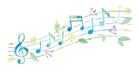 音符のイラスト