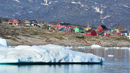Little town in Greenland