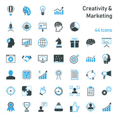 Creativity & Marketing - Iconset