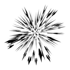 Explode Flash, Cartoon Explosion, Star Burst