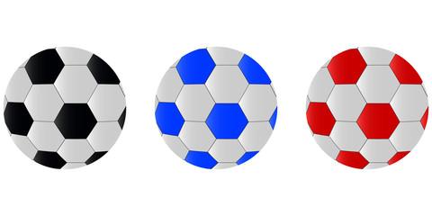 Soccer balls icon