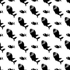 Fish Seamless Pattern Design