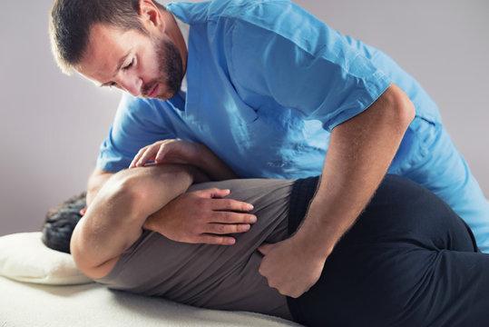 Chiropractic Back Adjustment