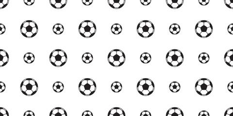 soccer ball seamless pattern vector football tile background wallpaper isolated