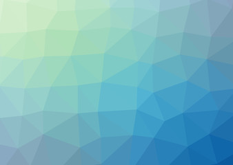 Abstract vector background with triangles