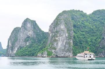 Beautiful Scenery of Halong Bay in Northern Vietnam