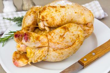 poulet et épices