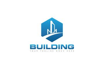building logo and icon Vector design Template. Vector Illustrator Eps.10