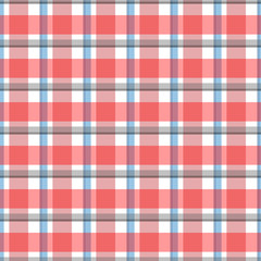 Abstract vector geometric seamless pattern. Vertical and horizontal stripes. Plaid.Can be used for wallpaper,fabric, web page background, surface textures.