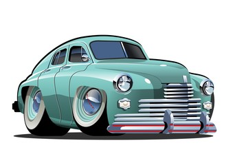 Papiers peints Cartoon voitures Vector Cartoon retro car