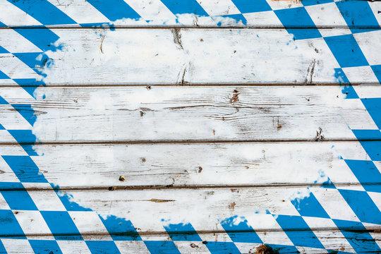 Oktoberfest Hintergrund in Bayern