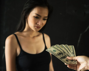 pay money for sex to prostitute