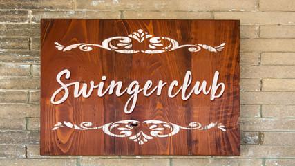 Schild 344 - Swingerclub