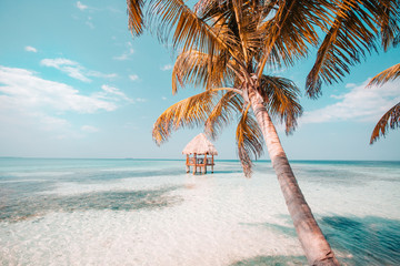 Belize Caye relaxation