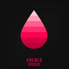 Anemia Vector Icon