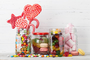 Canvas Prints Candy Colorful sweets