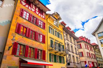 Cityscape of Lucerne, Switzerland Fototapete
