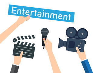 Entertaining shows, programs and films