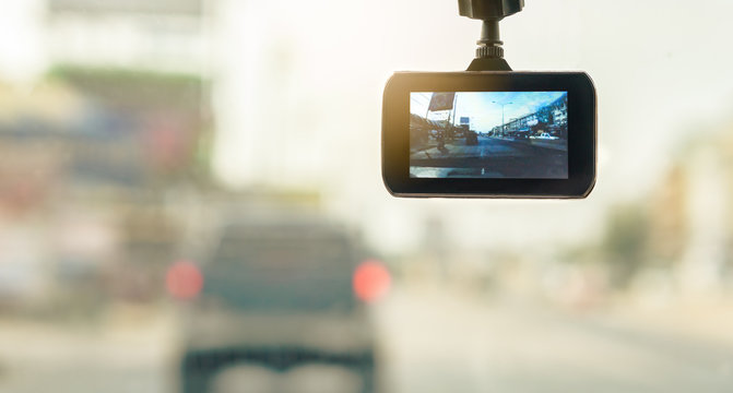 Front Car Camera Recorder for backup Evidence in Road Accident