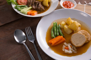 indonesian galantine food