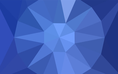 Light BLUE vector abstract mosaic backdrop with a diamond.
