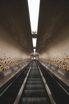 NYC Metro Tunnel Portrait