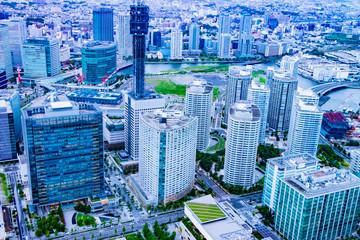 みなとみらい・横浜 展望台からの風景