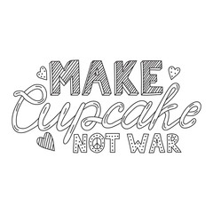 Make cupcake not war