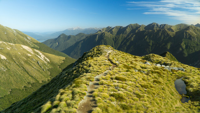 2 days in mountains on Kepler track, New Zealand